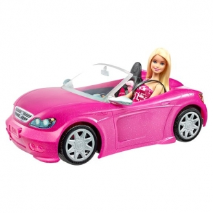 """Barbie Car"" в руках умельца превратился в гоночный автомобиль (видео)"